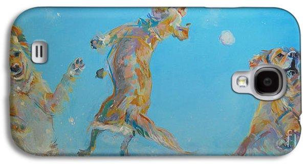 Snow Much Fun Galaxy S4 Case by Kimberly Santini