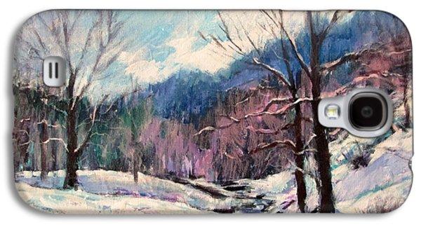 Snow On Goose Creek Galaxy S4 Case
