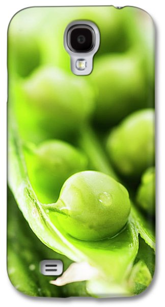 Snow Peas Or Green Peas Seeds Galaxy S4 Case by Vishwanath Bhat