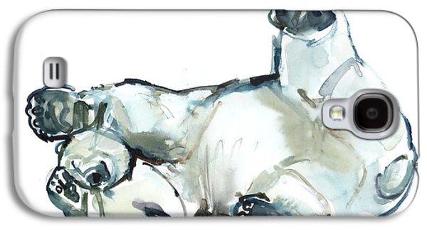 Snow Rub Galaxy S4 Case by Mark Adlington