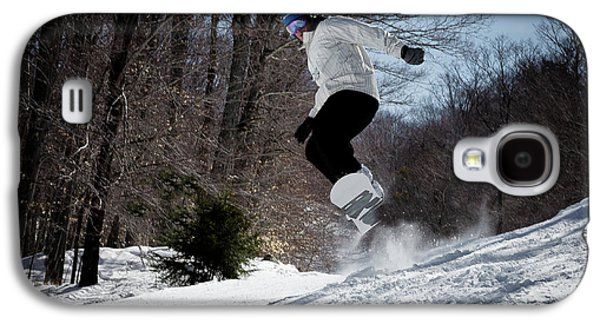 Galaxy S4 Case featuring the photograph Snowboarding Mccauley Mountain by David Patterson