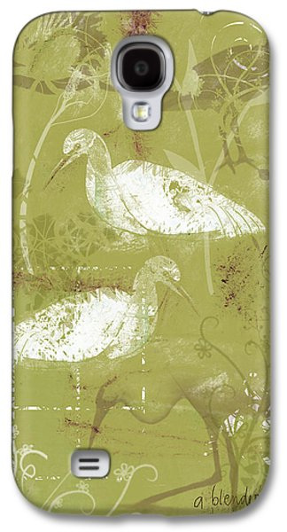 Snowy Egrets Galaxy S4 Case by Arline Wagner