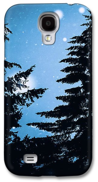 Snowy Night Galaxy S4 Case by Debi Bishop