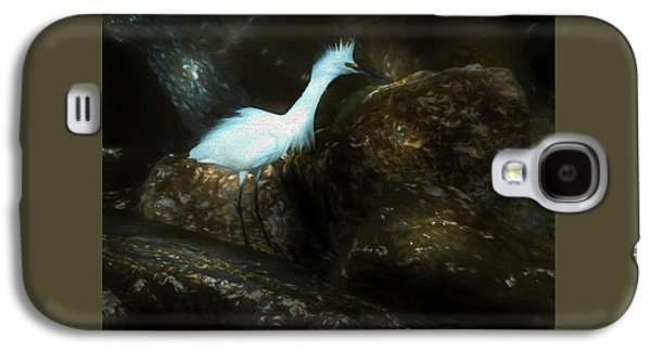 Snowy On The Rocks Galaxy S4 Case by Marvin Spates