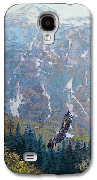 Soaring Eagle Galaxy S4 Case by Donald Maier