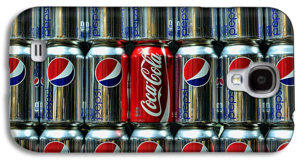 Soda - Coke Vs. Pepsi Galaxy S4 Case