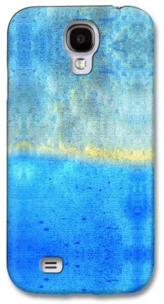 Soft Blue Serenity Art By Sharon Cummings Galaxy S4 Case