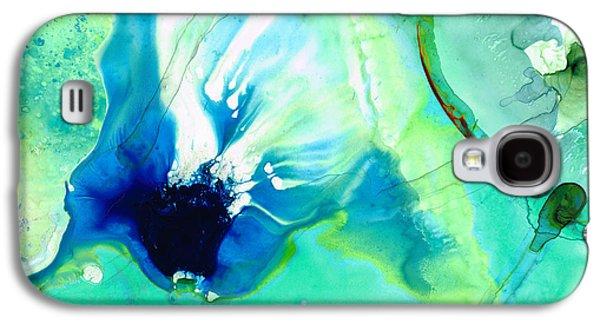 Soft Green Art - Gentle Guidance - Sharon Cummings Galaxy S4 Case