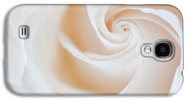 Susan Candelario Galaxy S4 Cases - Soft Swirls Galaxy S4 Case by Susan Candelario