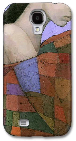 Girl Galaxy S4 Cases - Solace Detail Galaxy S4 Case by Steve Mitchell