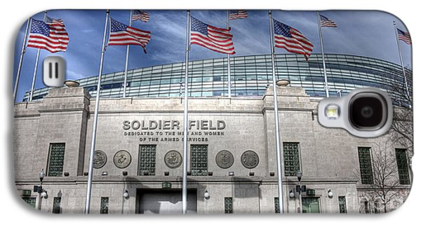 Soldier Field Galaxy S4 Case