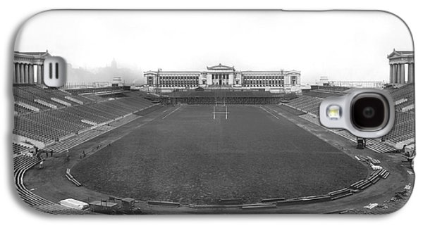 Soldier Field In Chicago Galaxy S4 Case by Underwood Archives