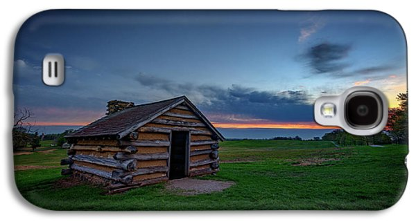 Soldier's Quarters At Valley Forge Galaxy S4 Case by Rick Berk