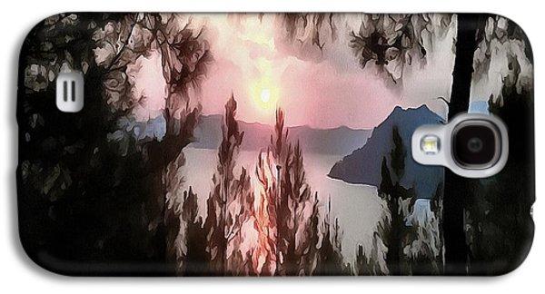 Solemn Sunset Galaxy S4 Case