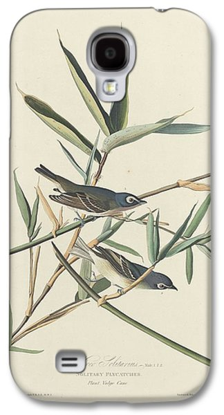 Flycatcher Galaxy S4 Case - Solitary Flycatcher by Dreyer Wildlife Print Collections