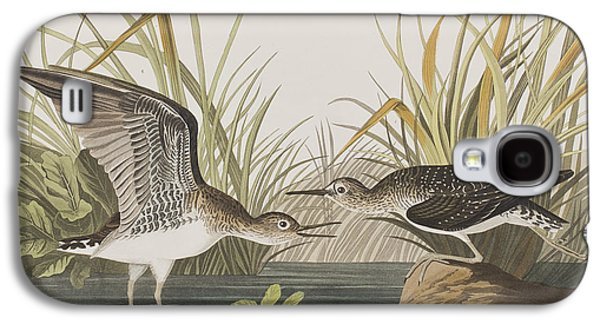 Sandpiper Galaxy S4 Case - Solitary Sandpiper by John James Audubon