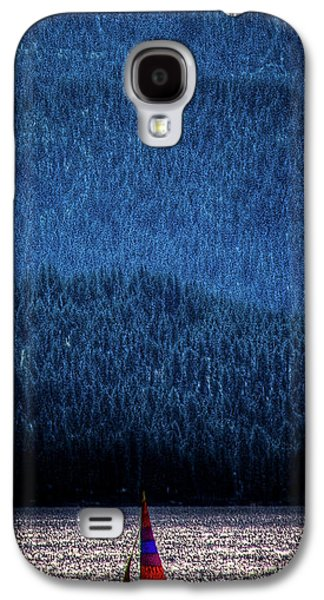 Galaxy S4 Case featuring the photograph Solitude On Priest Lake by David Patterson
