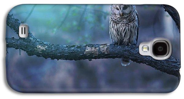 Owl Galaxy S4 Case - Solitude - Square by Rob Blair