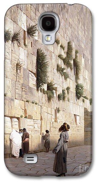 Solomon's Wall, Jerusalem  The Wailing Wall Galaxy S4 Case