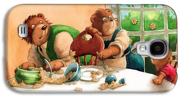 Someones Eaten My Porridge Galaxy S4 Case by Andy Catling