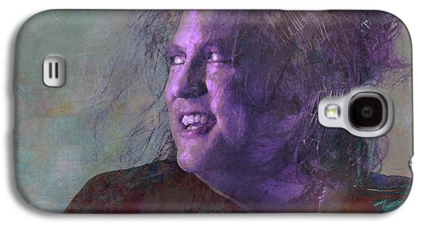 Robert Smith Music Galaxy S4 Case - Something Beginning With S by Mal Bray