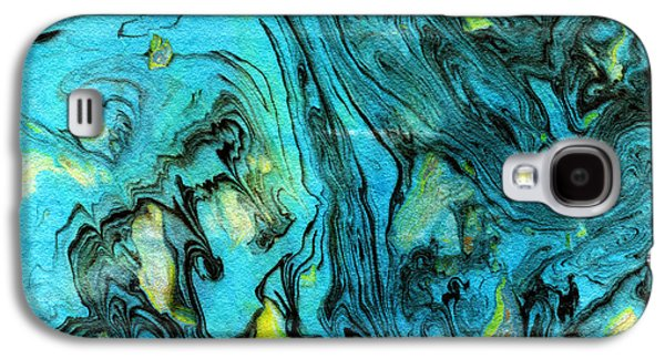 Somewhere New 6- Art By Linda Woods Galaxy S4 Case