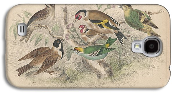 Songbirds Galaxy S4 Case by Anton Oreshkin