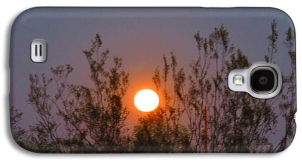 Sonoran Desert Harvest Moon Galaxy S4 Case