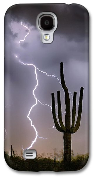 Galaxy S4 Case featuring the photograph Sonoran Desert Monsoon Storming by James BO Insogna