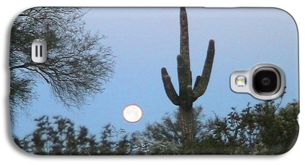 Sonoran Desert Moonset Galaxy S4 Case