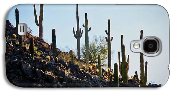 Sonoran Desert Saguaro Slope Galaxy S4 Case