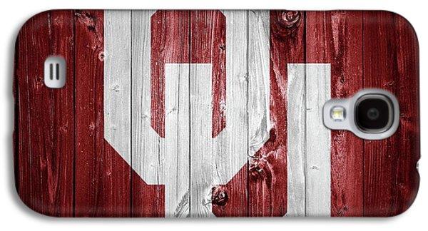 Sooners Barn Door Galaxy S4 Case by Dan Sproul