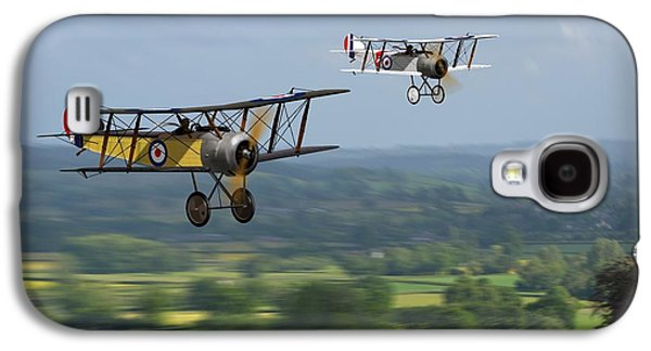 Sopwith Scout 2 Galaxy S4 Case by John Wills