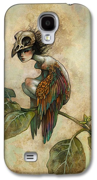Galaxy S4 Case - Soul Of A Bird by Caroline Jamhour