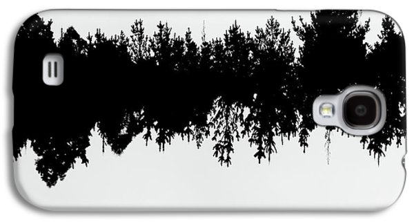 Sound Waves Made Of Trees Reflected Galaxy S4 Case