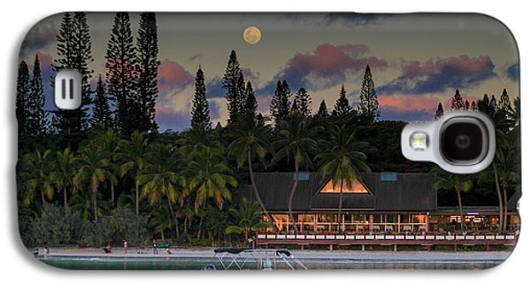 South Pacific Moonrise Galaxy S4 Case