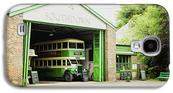 Southdown Bus Galaxy S4 Case by Angela Aird