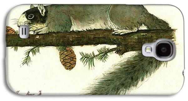 Southern Fox Squirrel  Galaxy S4 Case by Juan Bosco