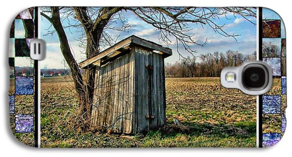 Southern Indiana Outhouse Galaxy S4 Case