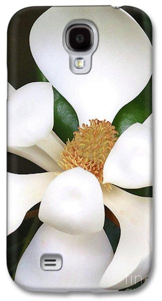 Southern Magnolia Cameo Galaxy S4 Case by Carol Groenen