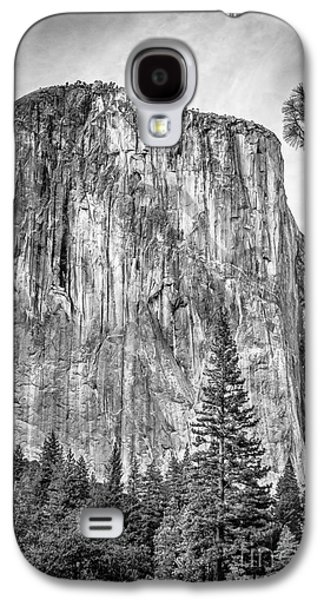 Southwest Face Of El Capitan From Yosemite Valley Galaxy S4 Case