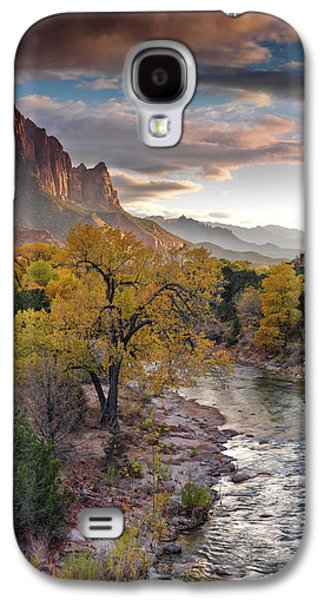Southwest Light Along The Virgin River Galaxy S4 Case by Leland D Howard