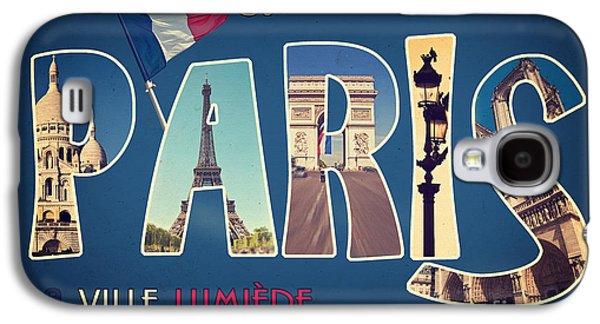 Travel Galaxy S4 Case - Souvernirs De Paris by Delphimages Photo Creations