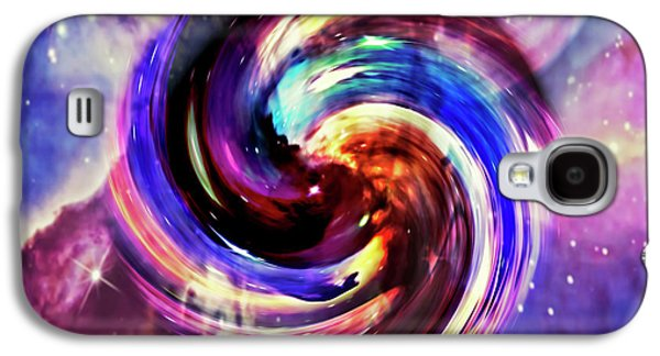 Space And Time Galaxy S4 Case by Susan Leggett