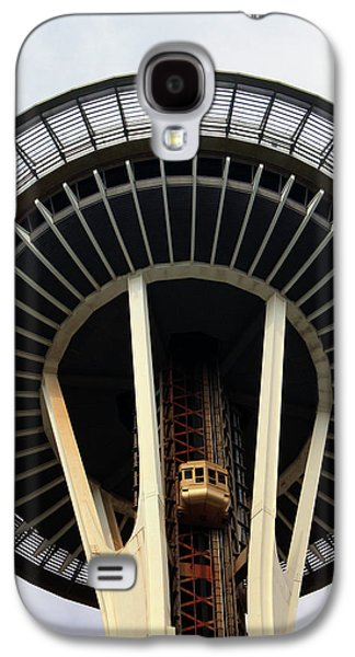 Space Needle- By Linda Woods Galaxy S4 Case by Linda Woods