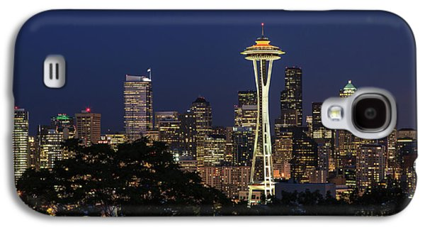 Galaxy S4 Case featuring the photograph Space Needle by David Chandler