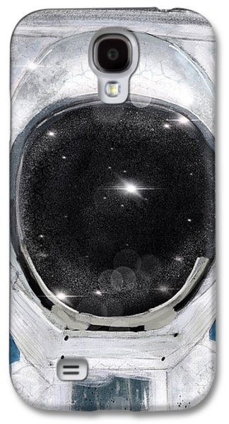 Space Selfie Galaxy S4 Case by Bri B