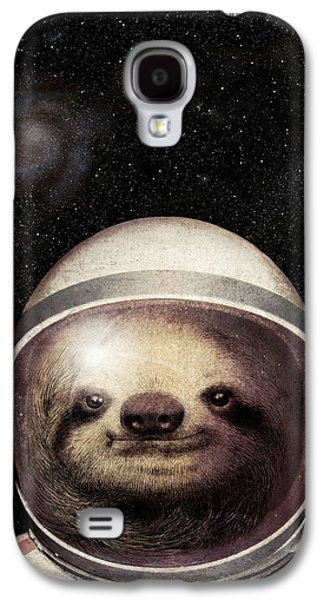 Space Sloth Galaxy S4 Case by Eric Fan