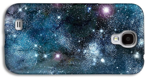 Solar Eclipse Galaxy S4 Cases - Space003 Galaxy S4 Case by Svetlana Sewell