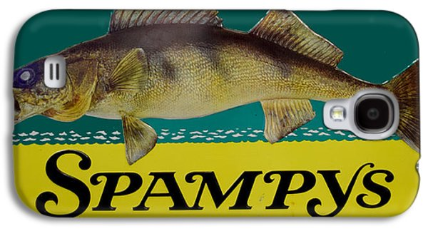 Spampys Bait And Tackle Galaxy S4 Case by Sign Art